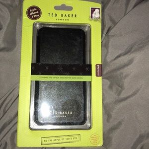 Ted Baker iPhone 6 Plus Leather-Look  Phone Case